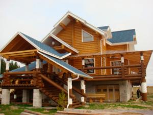 Дома из канадской рубки в Новосибирске