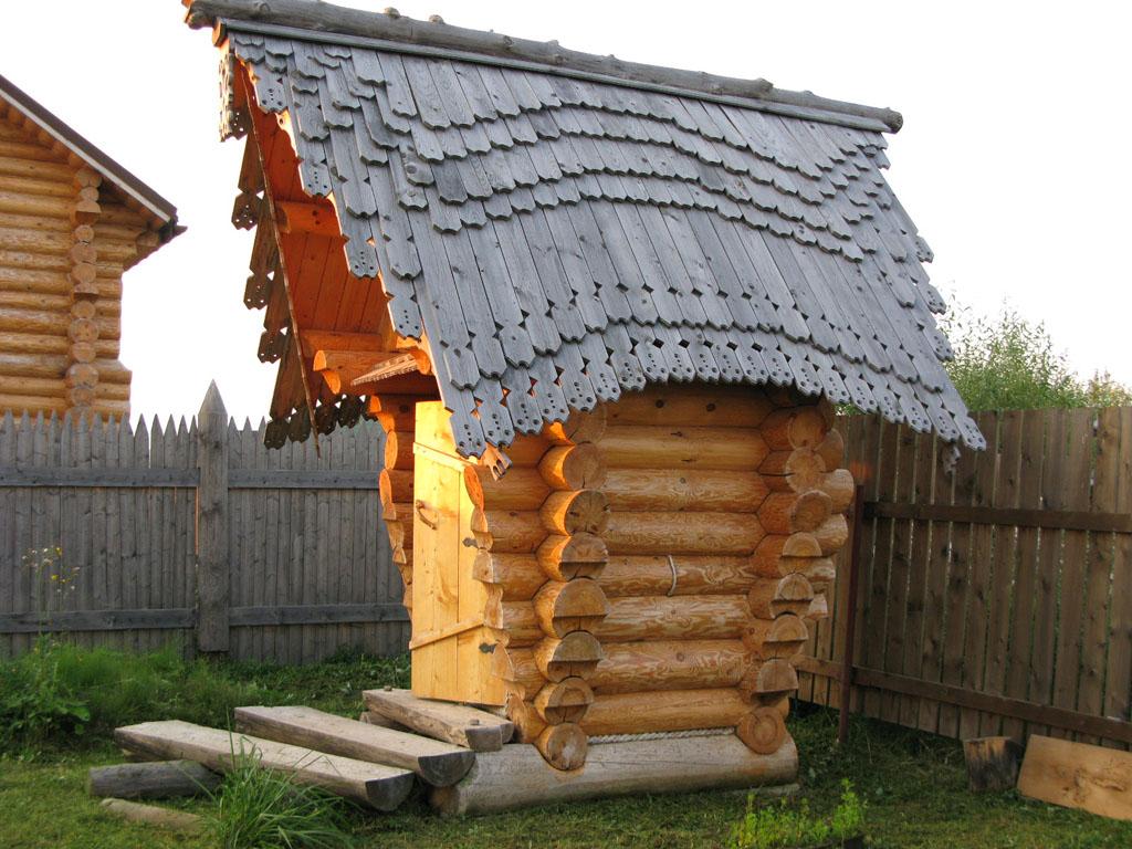 Малые строения своими руками из бревен