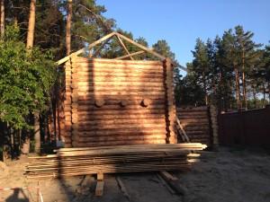 Рубленые бани ручной работы в Новосибирске