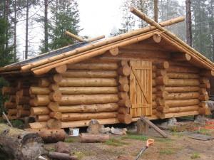 Дома из сруба дешево в Новосибирске