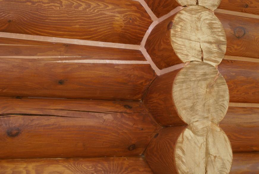 Утепление дома рубленного из бревна